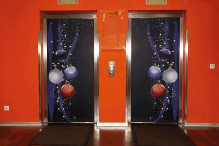 Mondelez - Lift - Grafik - Dekoration