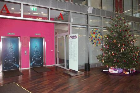 Mondelez-Weihnachtsdekoration