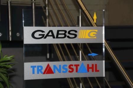Gabs-Transstahl-Plexiglassteller